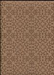 Sloane SketchTwenty3 Wallpaper Fabric Diamond Copper SL00813 By Tim Wilman For Blendworth